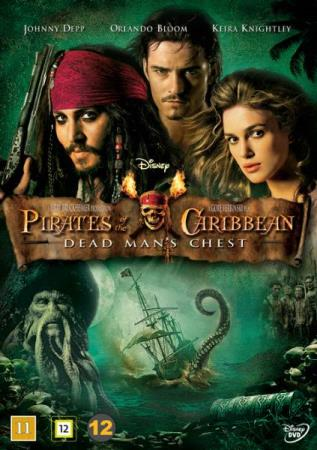 PIRATES OF THE CARIBBEAN 2 - DEAD MAN`S CHEST (2006) (DVD)