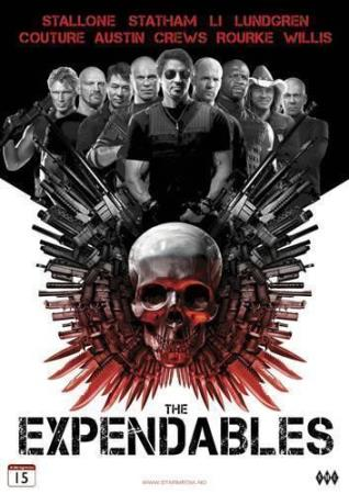 THE EXPENDABLES (2010) (SYLVESTER STALLONE) (DVD)