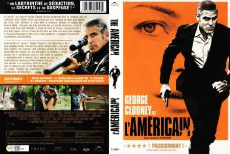 THE AMERICAN (2010) (GEORGE CLOONEY) (THRILLER) (DVD)