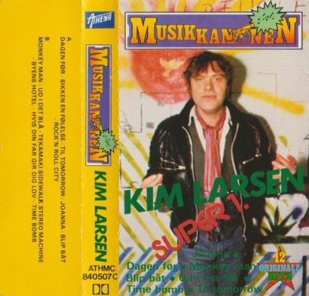 Kim Larsen - Super 1 - MC Gasolin