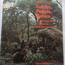 Marvin Harris: Culture, people, nature. An introduction to
