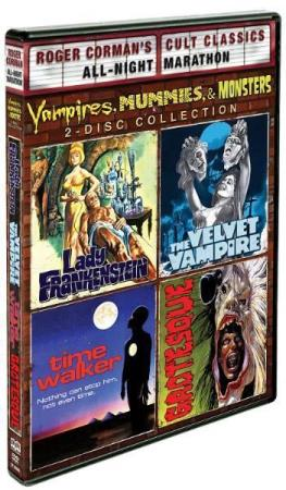 VAMPIRES MUMMIES & MONSTERS COLLECTION (2 DISC) (DVD)