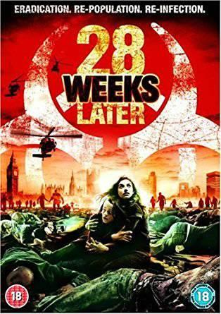 28 WEEKS LATER (2007) (HORROR) (DVD)