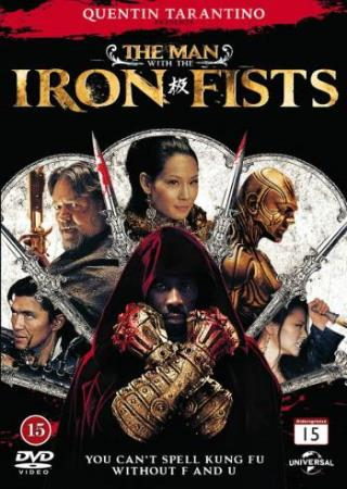 THE MAN WITH THE IRON FISTS (2012) (RUSSELL CROWE) (DVD)