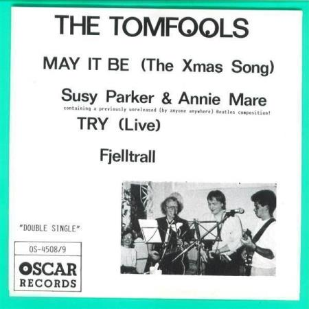 "4509 The Tomfools ""Double Single"" Oscar EP 1990 NY - BEATLES"