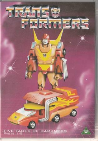 Transformers - Five Faces Of Darkness DVD 1986