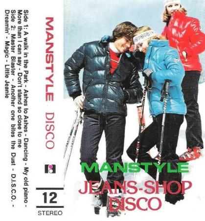 MANSTYLE.-DISCO.-NR 12.-ASHES TO ASHES-DREAMIN-LITTLE JEANIE