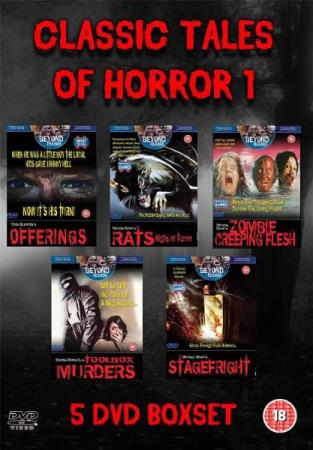 CLASSIC TALES OF HORROR 1 - COLLECTION (5 DISC) (DVD)