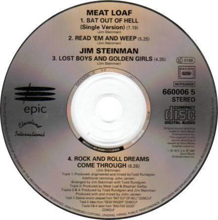 Meat Loaf - Bat Out Of Hell - 4 Spor