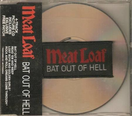 Meat Loaf - Bat Out Of Hell - With Patch