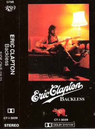 ERIC CLAPTON.-BACKLESS.-1978.
