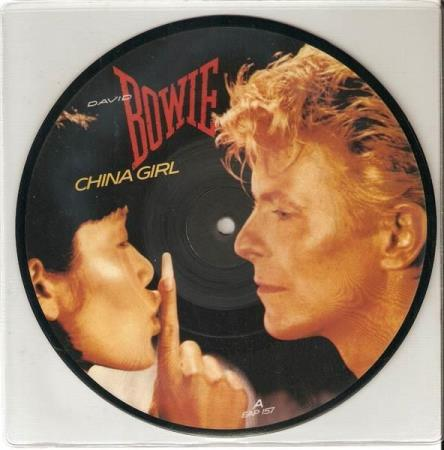 David Bowie - China Girl -  Pic Disc
