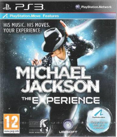 MICHAEL JACKSON.-THE EXPERIENCE.-PLAYSTATION 3-BLUE RAY DISC