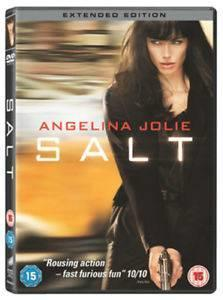 SALT - DELUXE EXTENDED EDITION (2010) (ANGELINA JOLIE) (DVD)