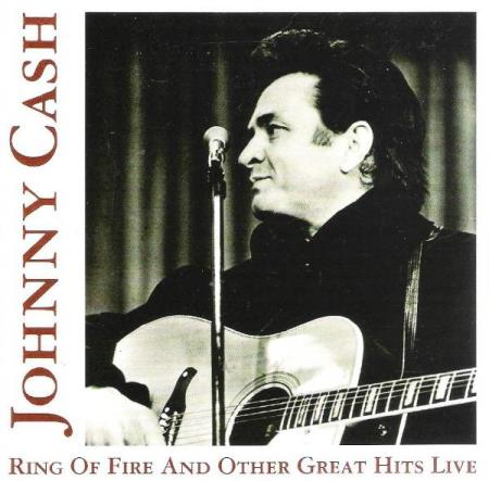 JOHNNY CASH.-RING OF FIRE AND OTHER GREAT HITS LIVE.-1996.