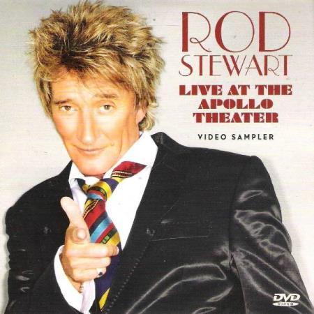 ROD STEWART.-LIVE AT THE APOLLO THEATER.-VIDEO SAMPLER-DVD.