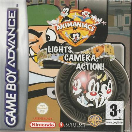 Animaniacs - Lights, Camera, Action! Gameboy Advance