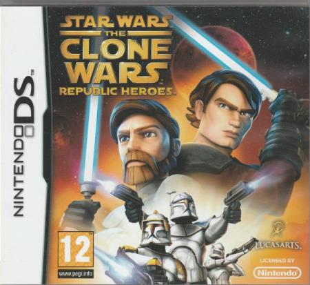 Star Wars - The Clone Wars - Republic Heroes Nintendo DS