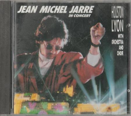 Jean Michel Jarre - In Concert Houston Lyon CD 1987