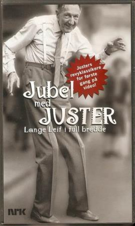 Leif Juster - Jubel Med Juster - VHS - Wenche Myhre