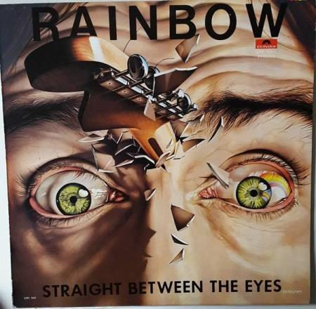 Ritchie Blackmore  Rainbow - Straight Between The Eyes - LP