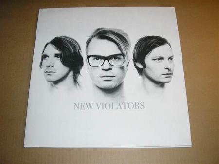 New Violators - Hvit Vinyl - LTD ED - LP - Spidergawd