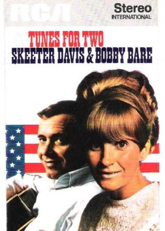 SKEETER DAVIS & BOBBY BARE.-TUNES FOR TWO.-1973.