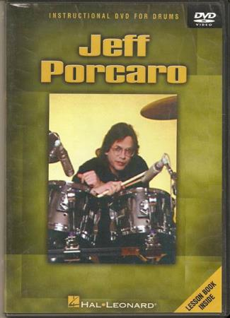 Jeff Porcaro - Instructional DVD For Drums - DVD US Utgave