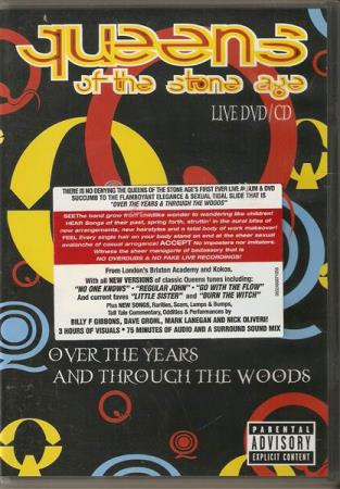 Queen Of The Stoneage - Over The Year - DVD/CD