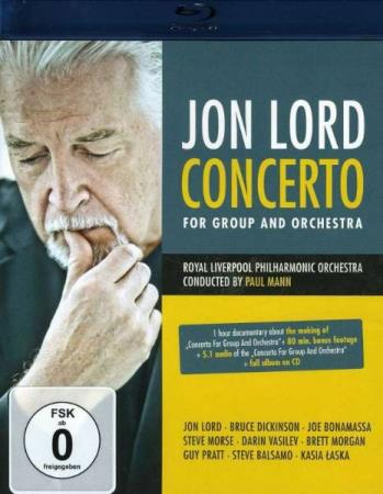 Jon Lord- Concerto For Group And Orchestra (Blu-ray+CD)