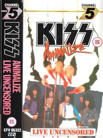 KIZZ.-ANIMALIZE.-LIVE UNCENSORED.-1984.