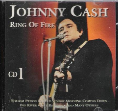 JOHNNY CASH.-RING OF FIRE.-CD 1.