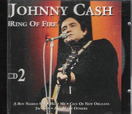 JOHNNY CASH.-RING OF FIRE.-CD 2.