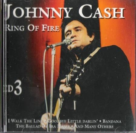 JOHNNY CASH.-RING OF FIRE.-CD 3.