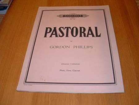 PASTORAL BY GORDON PHILLIPS FOR FLUTE, OBOE, CLARINET