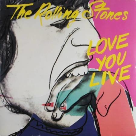 THE ROLLING STONES: Love You Live (2xLP, tysk)