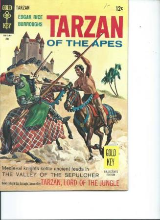 Tarzan of the apes Nr. 177. 1968 ( Nydelig blad)