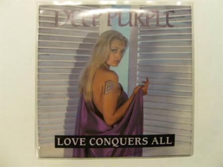 Deep Purple - Love Conquers All 7 (VG+)