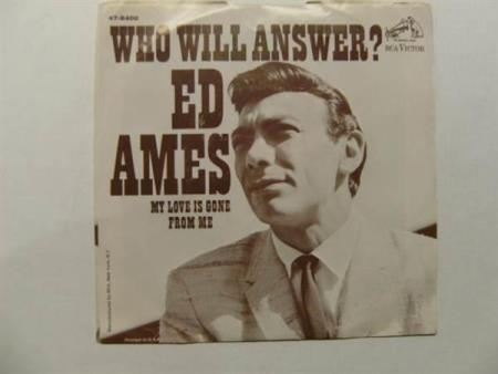 Ed Ames - Who Will Answer? 7 (EX+)