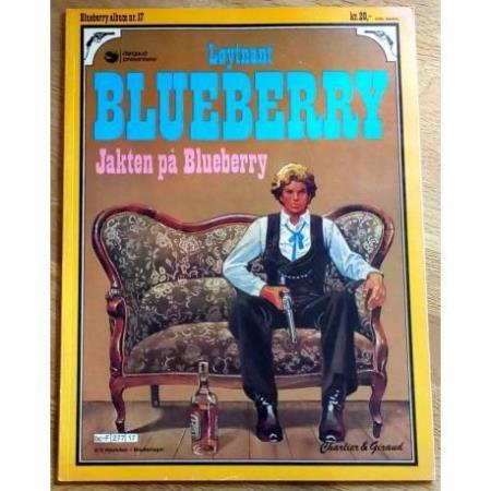 Blueberry album nr. 17 - Jakten på Blueberry (1. opplag)