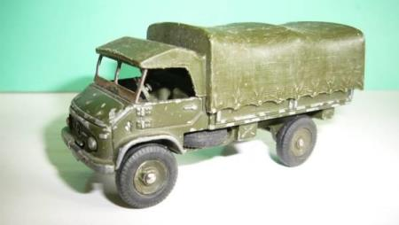 Camionette Military Mercedes Benz Unimog - Sjelden Model