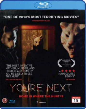 YOU`RE NEXT (YOURE NEXT) (2013) (HORROR) (BLU-RAY)