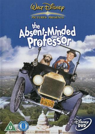 THE ABSENT MINDED PROFESSOR (1961) (DISNEY) (DVD)