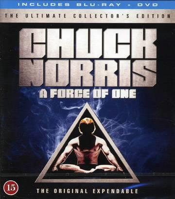 A FORCE OF ONE (1979) (CHUCK NORRIS) (BLU-RAY + DVD)