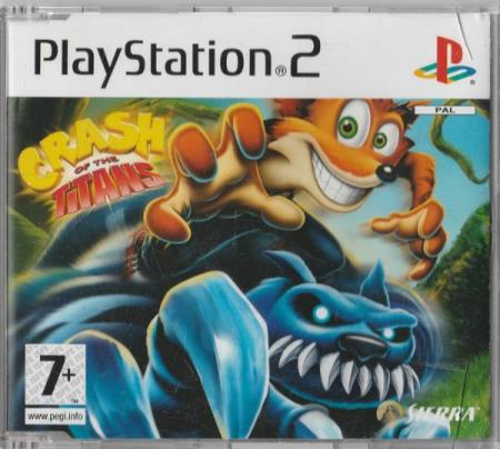 Crash Of The Titans PS2 Playstation 2 Crash Bandicoot