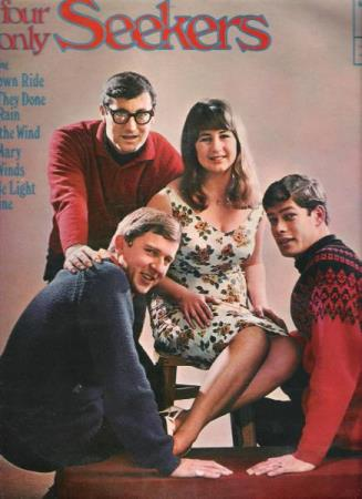 THE SEEKERS.-HIDE AND SEEKERS.-BOBBY RICHARDS.-1964.