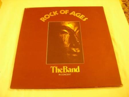 THE BAND - ROCK OF AGES 2 LP