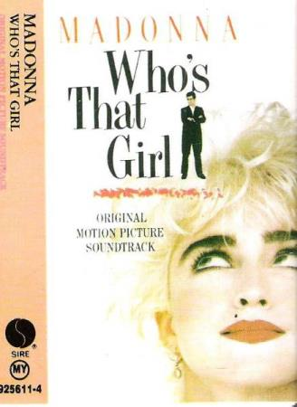 MADONNA.-WHO;S THAT GIRL.-1987.