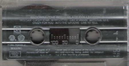MADONNA.-THE IMMACULATE COLLECTION.-1985.