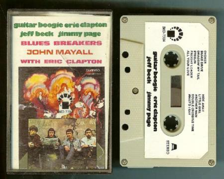Guitar Boogie Blues Breakers Clapton Beck Page Mayall 1980